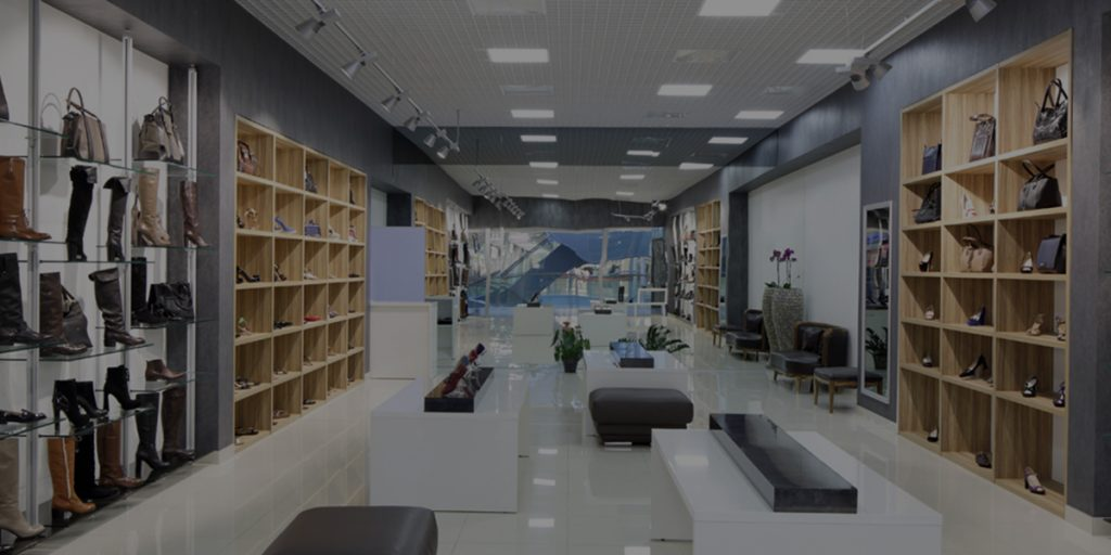Contemporary retail store