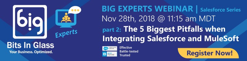 "Webinar: ""The 5 Biggest Pitfalls with Integrating Salesforce and"